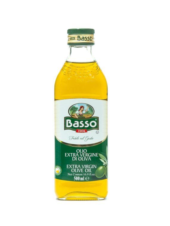 """Масло оливковое """"Бассо"""" нерафинированное"""