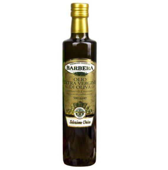 Масло оливковое «Барбера» Selezione Unica нерафинированное