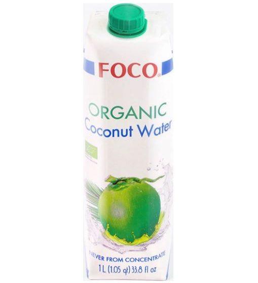 Органическая кокосовая вода ORGANIC FOCO