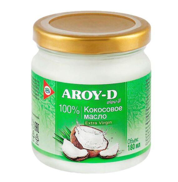 Масло кокосовое extra virgin Aroy-D