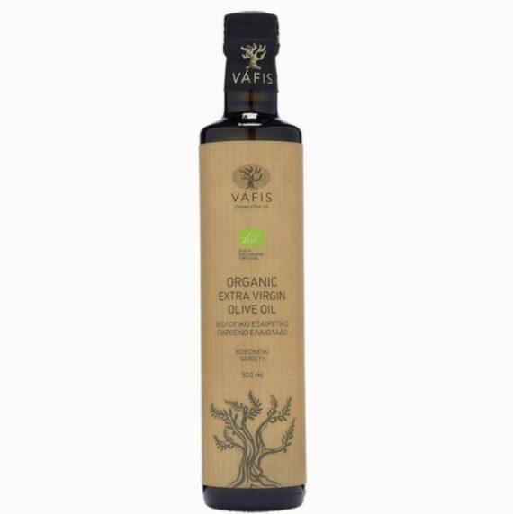"""Масло оливковое """"Вафис"""" нерафинированное Extra virgin oil ORGANIC"""