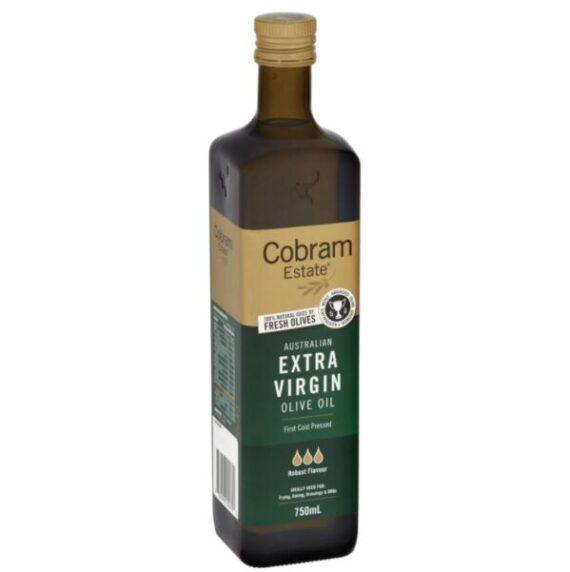 Масло оливковое нерафинированное «Кобрам Эстейт» холодного отжима Extra Virgin Насыщенное