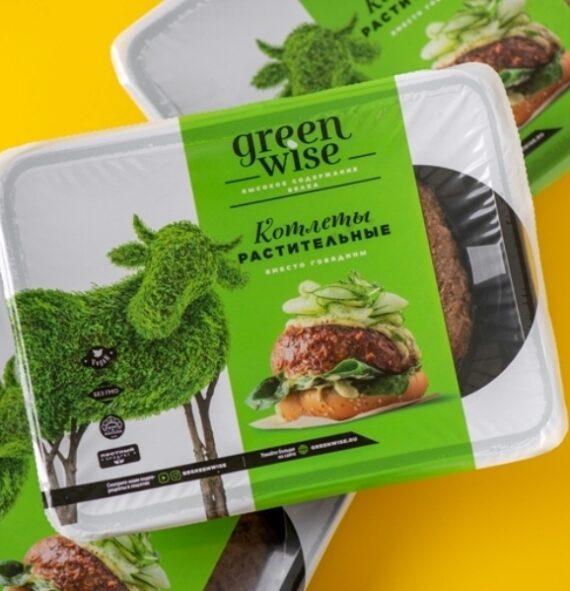 Котлеты растительные со вкусом говядины GREENWISE